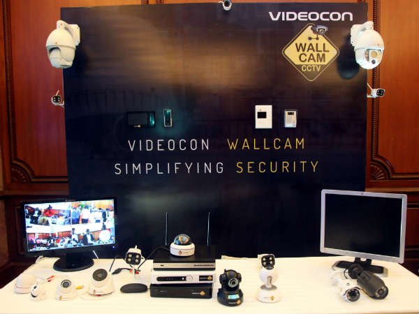 Videocon Wallcam and Vodafone launch the 4G bundled CCTV solutions