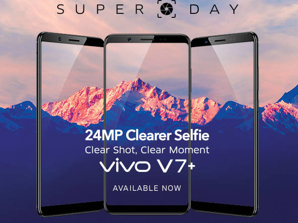 Vivo V7 Plus now available in India: Threat to selfie-centric phones