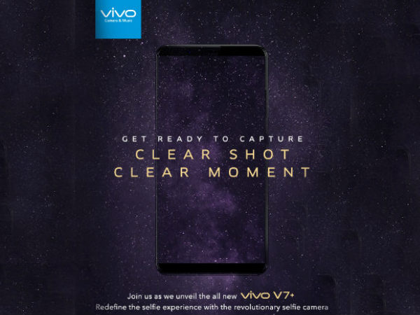 Vivo V7+ will be launched today in India