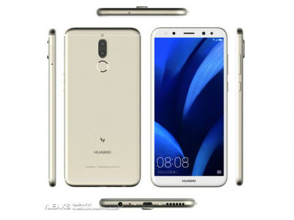 Huawei G10 renders leaked showing off four cameras