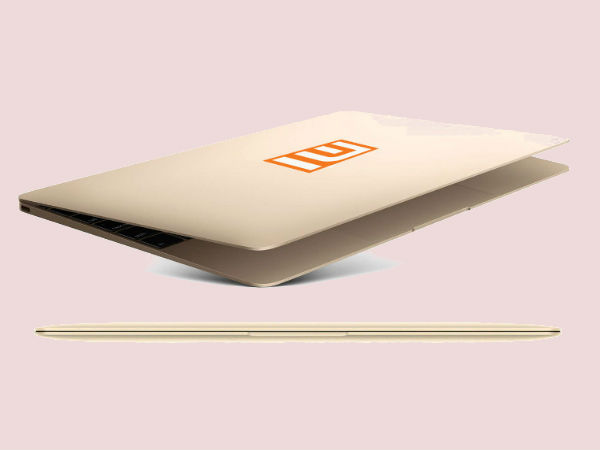 Mi Notebook Pro Specifications and Features Announced