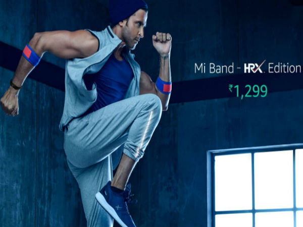 Xiaomi Mi Band HRX Edition launched with 23-day battery life
