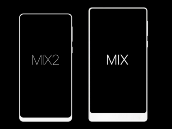 Xiaomi Mi Mix 2 might have a smaller display than Mi Mix, shows sketch