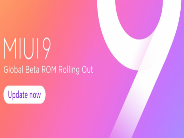 Xiaomi MIUI 9 Global Beta ROM 7.9.21 is available for download