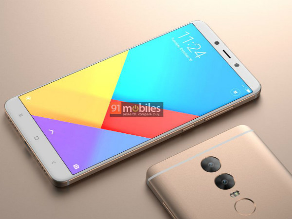 Xiaomi Redmi Note 5 renders reveal dual rear cameras and design
