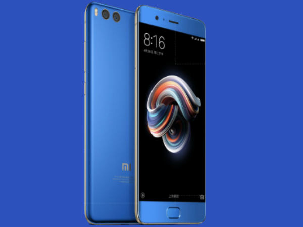 Xiaomi Mi Note 3 with 12MP dual rear cameras announced