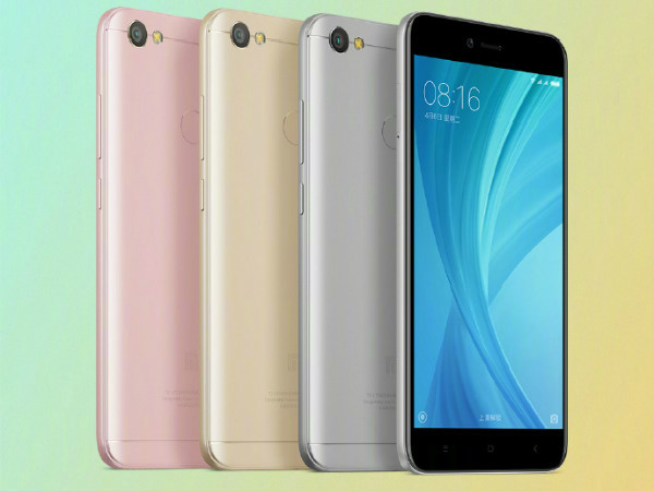 Xiaomi Redmi Note 5A with 4GB RAM and 64GB storage goes on sale
