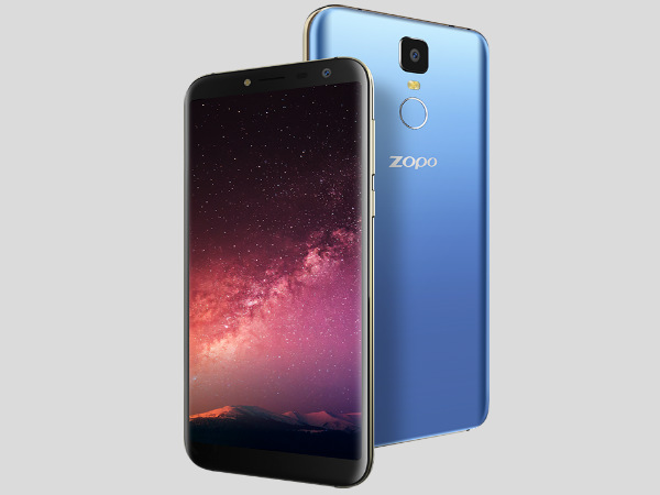 Zopo launches the cheapest 18:9 infinity bezel-less smartphones in India