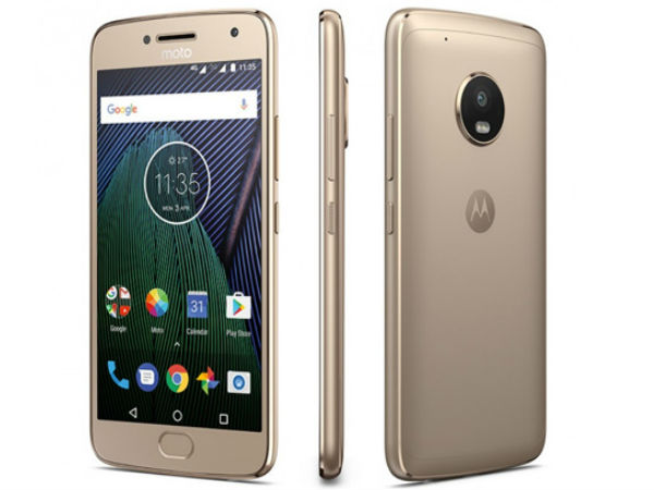 24% off on Motorola Moto G5 Plus (32GB, Fine Gold)