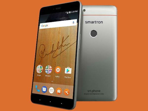 21% off on Smartron srt.phone (Titanium Gray, 64 GB)  (4 GB RAM)