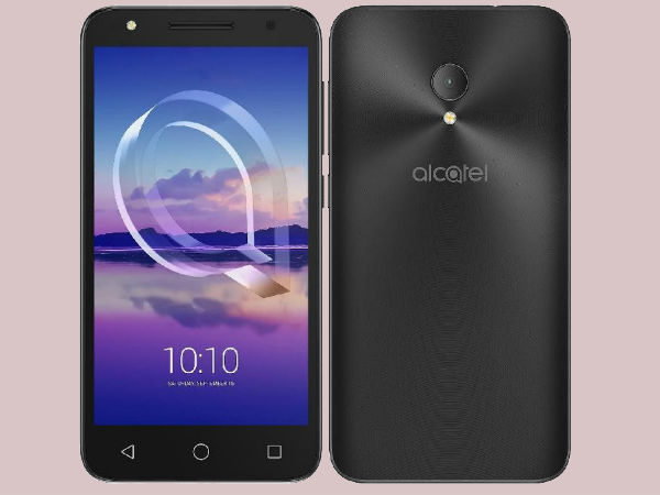Alcatel U5 HD with Nougat, 8MP selfie camera with flash launched