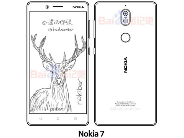 Alleged Nokia 7 sketch leaks prior to its launch