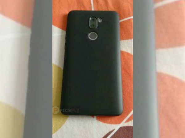 Alleged Xiaomi Redmi Note 5 rear panel leaks showing dual cameras