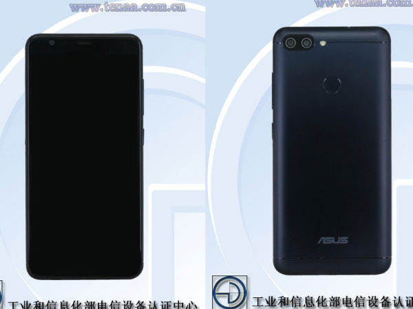 Asus smartphone with dual cameras, 18:9 display on the way