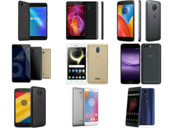 Best Budget 4G Smartphones to buy in India Under Rs 10,000