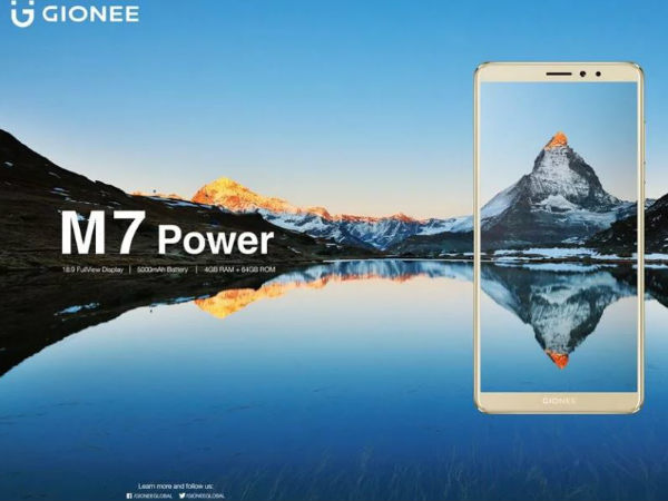 Gionee M7 Power launching in India on November 2?