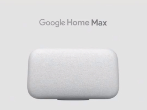 Google Home Mini, Google Home Max announced with Pixel 2 smartphones