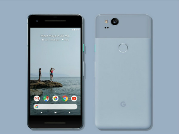 Google Pixel 2 India launch pegged for November 1