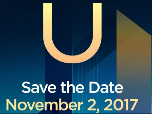 HTC confirms November 2 event via Twitter; U11 Plus launch likely