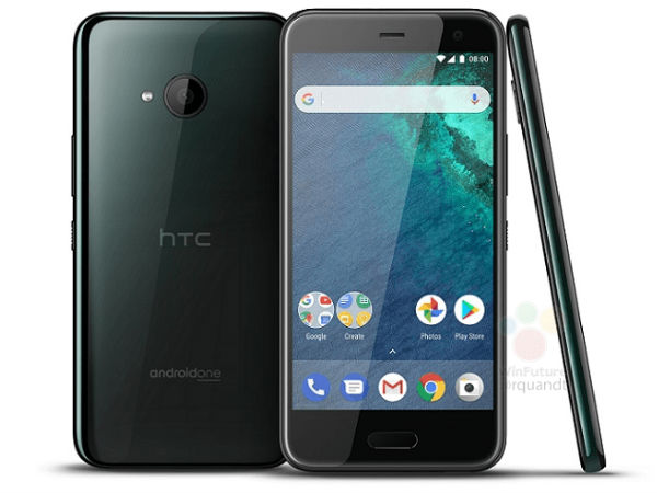 HTC U11 Life featuring Android One pricing leaked along with new image