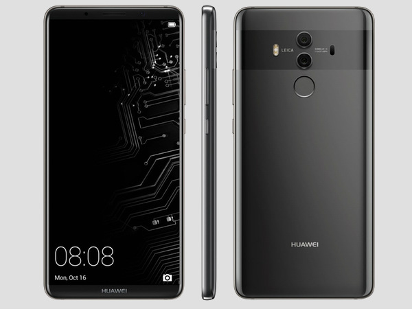 Huawei Mate 10 new leak confirms Android 8.0 Oreo and Stylus support