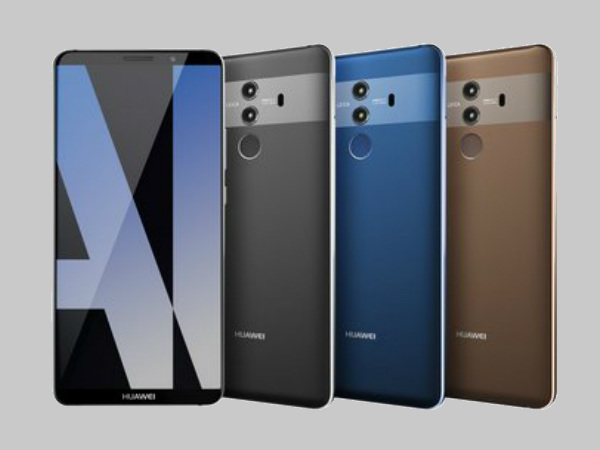 Huawei Mate 10 series Chinese and European prices leaked hours before the launch
