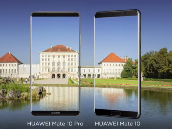 Huawei Mate 10 and Mate 10 Pro launched: Most advance smartphones from Huawei till date