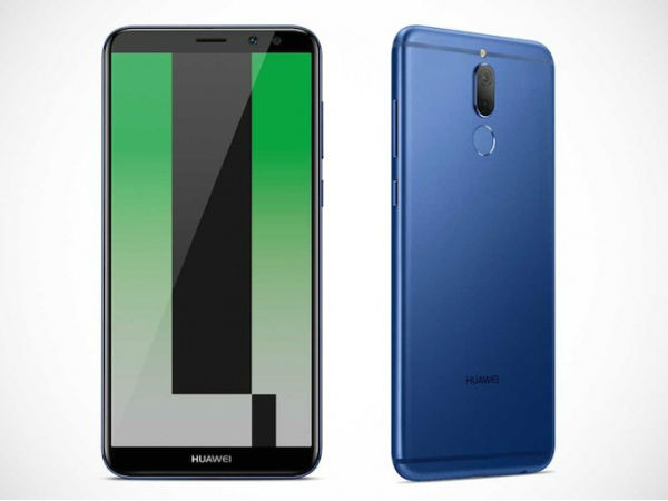 Huawei Mate 10 Lite goes official with 18:9 display and four cameras