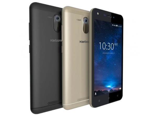Karbonn Titanium Jumbo with a 4000mAh battery launched