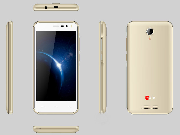 Mafe Shine M815 with 4000mAh battery launched at Rs. 4,999