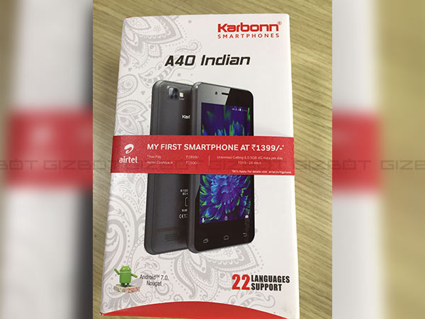 Bharti Airtel launches 4G smartphone at Rs 1399, partners with Karbonn
