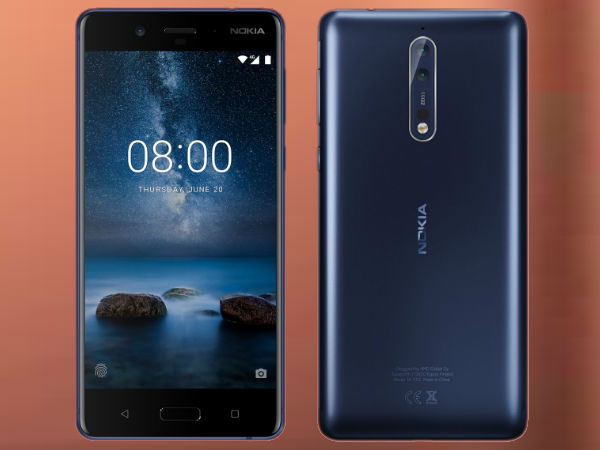 Nokia 8 now available in India at Rs 36,999: threat to other 30k Above smartphones