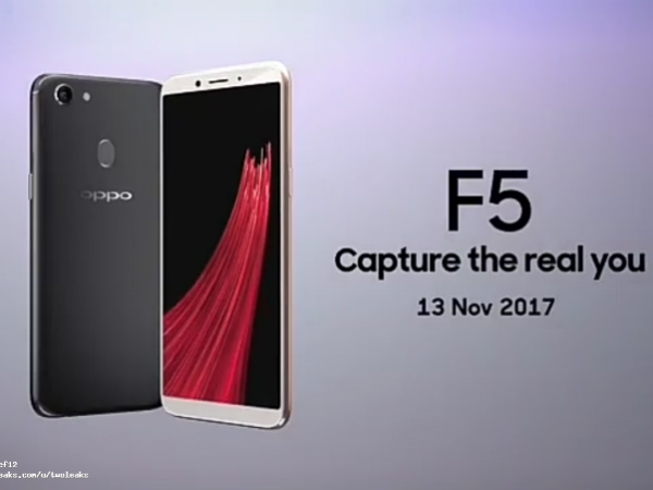 Oppo F5 promo video hits the web showing the design; Retail box too appears online