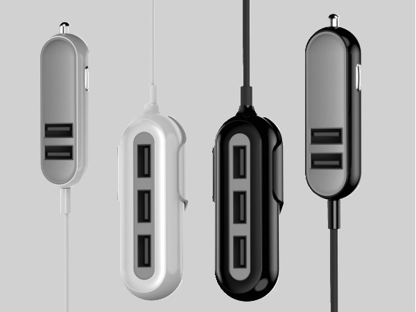 "Portronics launches 5 port ultra powerful car-charger ""Car Power IV"""