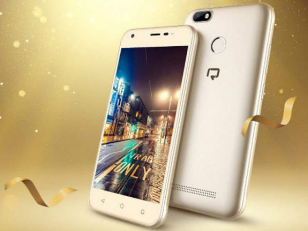 Reach Allure Secure with 8MP selfie camera, Android Nougat launched
