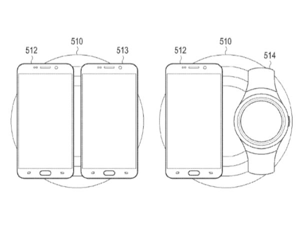 Samsung files patent for dual wireless charger