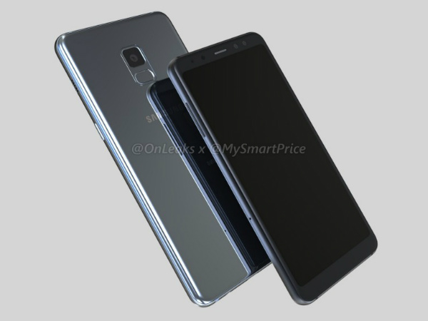 Samsung Galaxy A5 (2018), Galaxy A7 (2018) renders are out