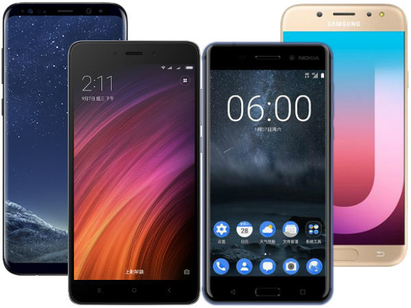 Top 10 trending smartphones from last week: Nokia 6, Galaxy J7 Pro, Redmi Note 5, Note 8 and more
