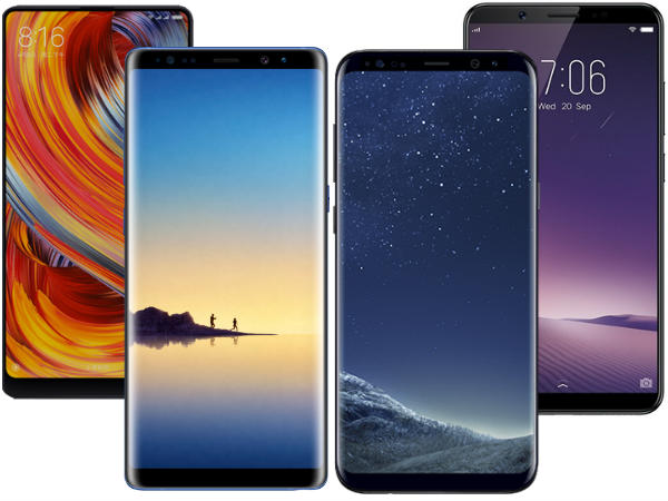 Top bezel-less smartphones to buy in India