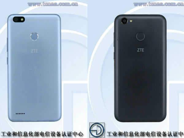 Two ZTE smartphones with entry-level specs visit TENAA