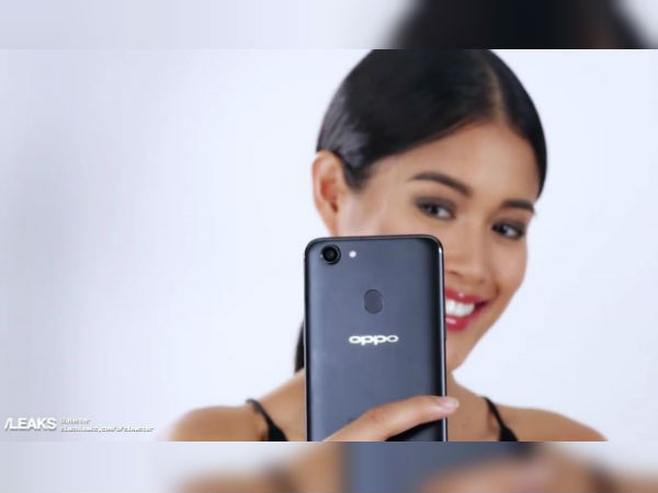 'Selfie-expert' Oppo F5 leaks in videos, pictures