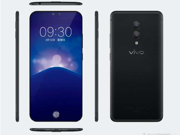 Vivo Xplay 7 renders along with specs leaked; fully bezel-less phone