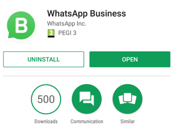 WhatsApp Business features come to light standalone app likely
