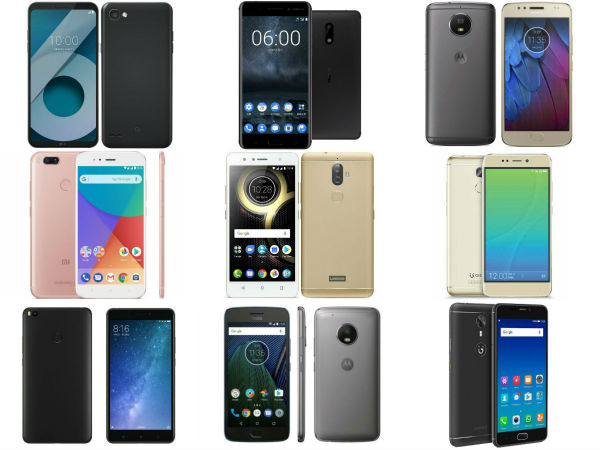 Best smartphones under Rs 15,000 to buy in India this October 2017