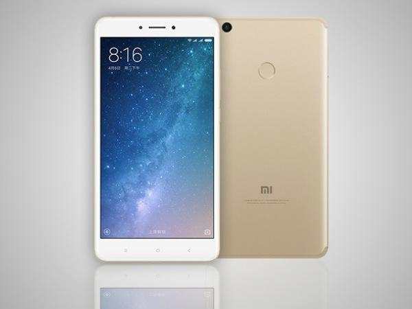 Xiaomi Mi Max 2 at a minimum price of Rs. 999 on Flipkart