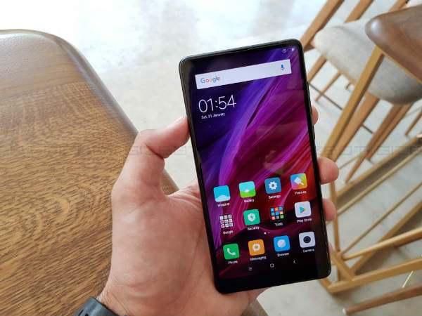 Xiaomi Mi Mix 2 to go on sale today at 12 PM in India