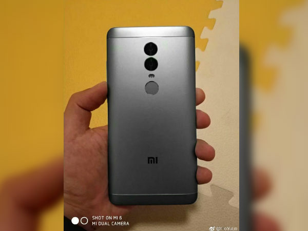 Xiaomi Redmi 5 Plus hands-on images leaked confirming 18:9 display