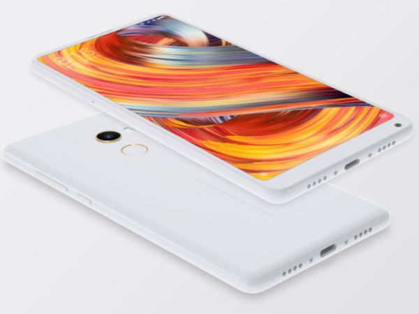 Mi Mix 2 Bezel-Less Smartphone from Xiaomi Launched In India