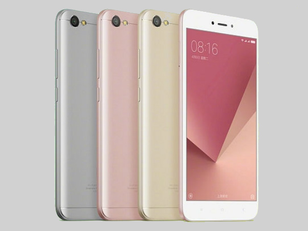 Xiaomi Redmi 5, 5A and 5 Plus storage and color options leaked online