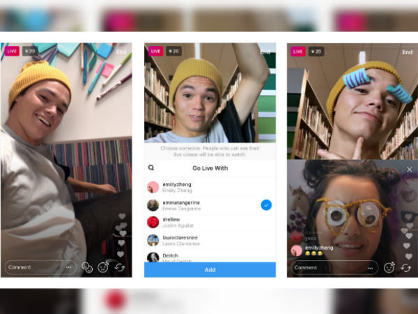 You can now go live with a friend on Instagram